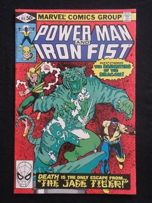 Power Man #66 MARVEL 1980 - NEAR MINT 9.4 NM - Iron Fist!