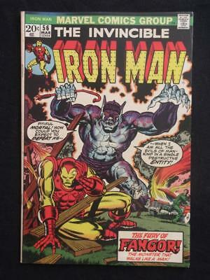 Iron Man #56 MARVEL 1973 - HIGH GRADE - Stan Lee!