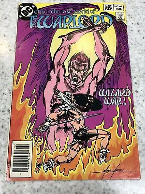 Enter The Lost World Of The Warlord #66 DC Comic
