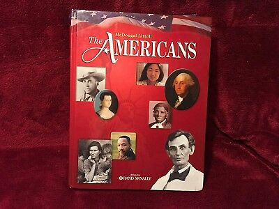 "McDougal Littell ""The Americans ""Atlas By Rand McNally"
