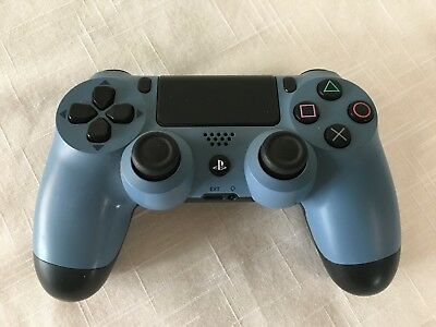 Sony Playstation 4 PS4 Dualshock 4 Wireless Controller Uncharted 4 Blue Gray