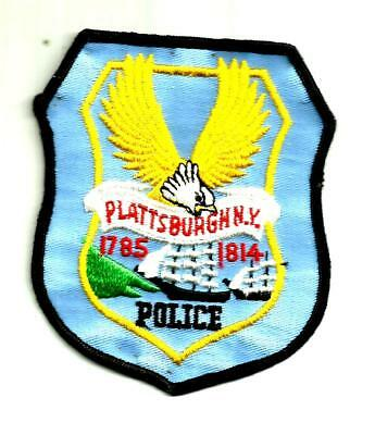 New York - Plattsburgh Police Department Patch, Old Style