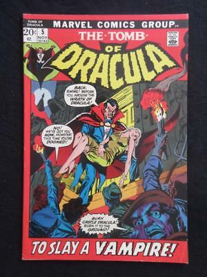 Tomb of Dracula #5 MARVEL 1972 - HIGHER GRADE - Stan Lee!