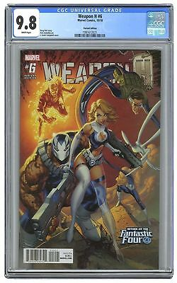 Weapon H #6 Campbell Fantastic Four variant - CGC 9.8