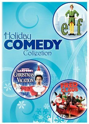 Holiday Comedy Collection (Elf / Christmas Vacation / Fred Claus) [DVD] NEW!