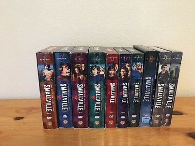 Smallville: The Complete Series (DVD, Season 1-10 Box set)