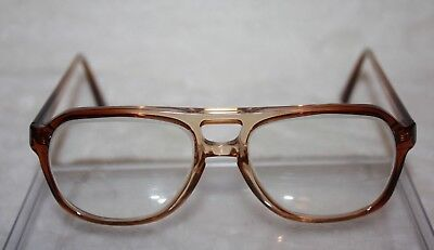 Vintage Harrison Bi-Focal Brown Fade RX Eye Glasses 50-17-140 Made in the U.S.A