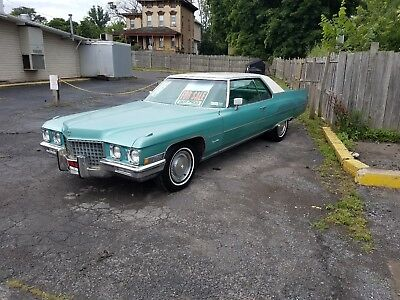 1971 Cadillac DeVille  1971 cadillac coupe deville runs and drives perfect ready to cruise