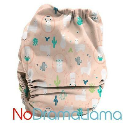 Bubblebubs Candies (Ai2) Nappy, No Drama Llama Minky