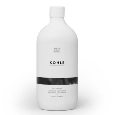 Kohle Charcoal and Coconut Whitening Mouthwash Eco Environmentally Friendly