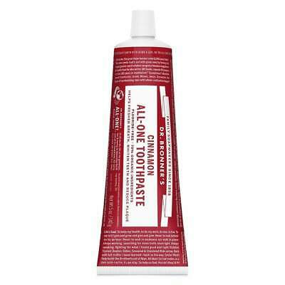 Dr. Bronner's Toothpaste, Cinnamon Eco Environmentally Friendly