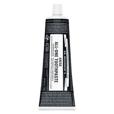 Dr. Bronner's Toothpaste, Anise Eco Environmentally Friendly
