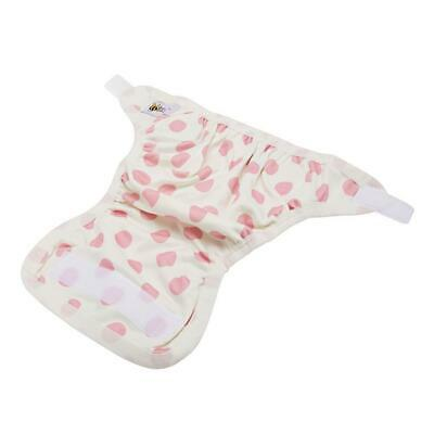 Baby Beehinds PUL Cover (PUL with Velcro) Pink Spot Eco Enviromentally Friendly