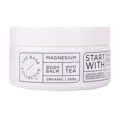 The Base Collective Magnesium + White Tea Body Balm Eco Environmentally Friendly