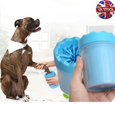 Portable Pet Fur Wash Paw Plunger Mud Cleaner Washer Mudbuster Dog Cat Puppy Cup