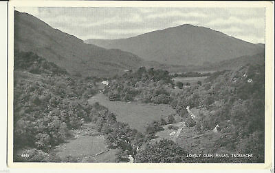 Vintage Postcard - Lovely Glen Finlas, Trossachs - Unposted - C0057