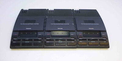 3 x Philips 710 Transcription System Executive - LFH0710/00