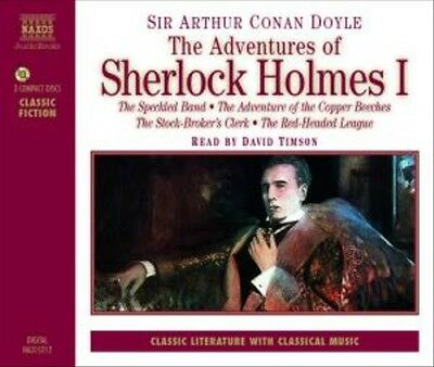 The Adventures of Sherlock Holmes - I, 3 Audio-CDs
