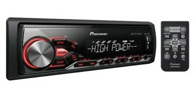 Pioneer MVH-280FD Car Stereo RDSTuner MP3 Aux USB iPod iPhone Android Player