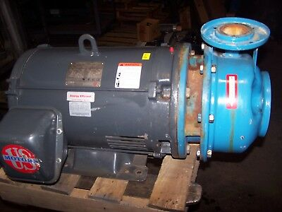"""Goulds B&g  40 Hp Stainless End Suction Centrifugal Pump 2-1/2"""" X 2"""""""