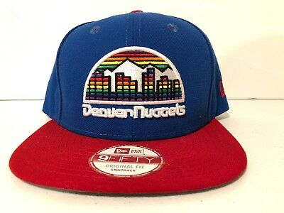 the best attitude f24d5 5cb2e Denver Nuggets New Era NBA Hardwood Classics 2Tone Basic 9FIFTY Snapback Cap