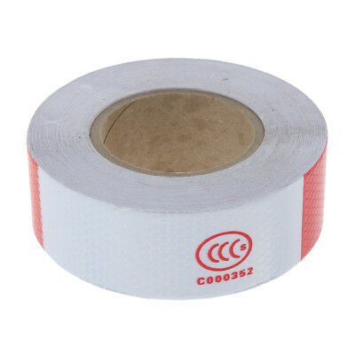 Reflective Safety Warning Conspicuity Tape Sticker Roll Film Trailer Camper
