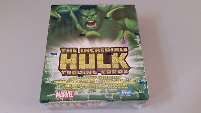 2003 TOPPS - The Incredible HULK - Factory Sealed Hobby Box