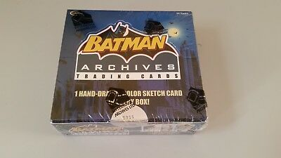 2008 Rittenhouse - BATMAN ARCHIVES - Serial Numbered & Factory Sealed Box