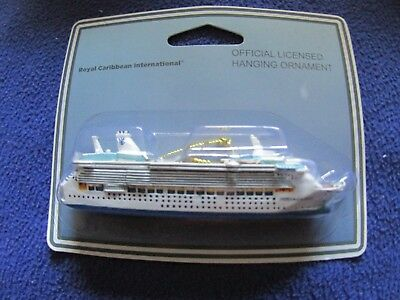 NEW Official Royal Caribbean FREEDOM  of the Seas Ship Ornament Christmas