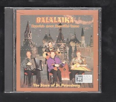 Balalaika: Russia's Most Beautiful Songs by Stars of St. Petersburg (CD, MHS)
