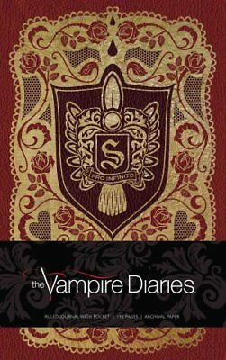 Vampire Diaries Hardcover Ruled Journal by Insight Editions (Hardback, 2017)