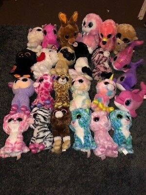 Ty Beanie Boo Bundle - 25 Mixed Animal - Lot A