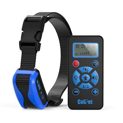 Dog Pet Training Shock Collar Waterproof Rechargeable with Remote All Sizes Bark