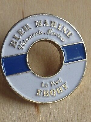 Pin's Pin Badge Mode Bleu Marine Vetements Marins