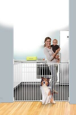 Dreambaby Broadway Security Gate 91.4cm Tall Baby Pet Dog Child Safety Stairs