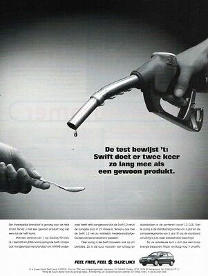 1996 Suzuki Swift (Dutch, 1pg.) Advertisement (AAE.467)