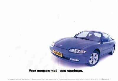 1992 Mazda MX-6 2.5 V6 (Dutch, 2pg.) Advertisement (AAE.480)