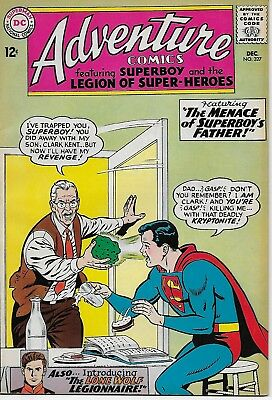 ADVENTURE COMICS  #327 from DC Comics  Very Fine 8.0