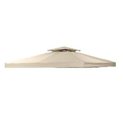 Garden Winds Universal Two-Tiered Replacement Gazebo Canopy, RipLock 350Please