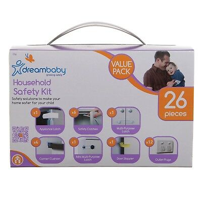 Dreambaby Household Safety Kit 26pc Value Pack Baby Proofing Multipurpose Gift