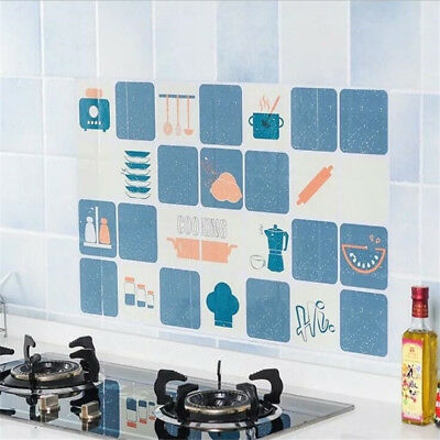3D Self-Adhesive Waterproof Wall Tile Fume Sticker for Kitchen Home Decoration