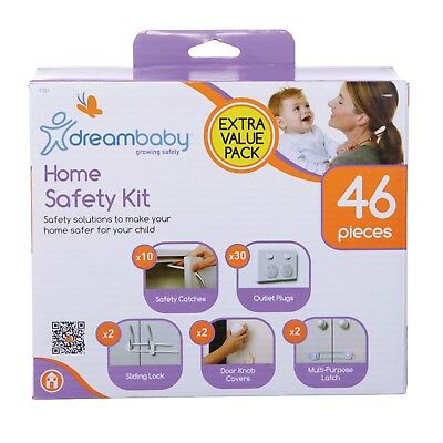 Dremababy Household Safety Kit 46pc Value Pack Multipurpose Baby Proofing