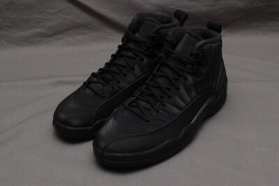 400bbc43686c NIKE AIR JORDAN 12 Retro Winter Black anthracite Bq6851-001 ...