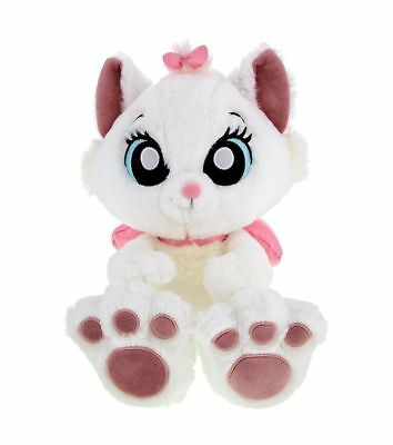 """Disney Parks Aristocats Marie Cat Big Feet 10"""" Plush Kitty Toy Doll New With Tag"""