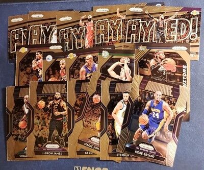 2018-19 Prizm Inserts Dominance Get Hyped Hall Monitors You Pick From List.