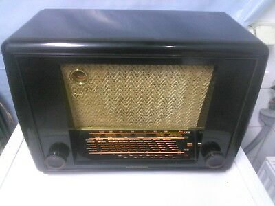 Telefunken Operette 50 Bakelit  Röhrenradio Baujahr 1950 - 1951 Made in Germany