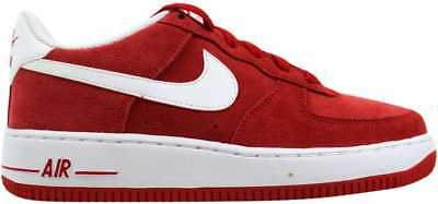 newest collection da106 055b5 Nike Air Force 1 University Red White 596728-601 Grade-School SZ 6.5