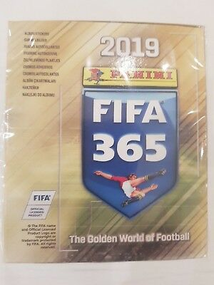 FIFA 365 - 2019 / 50 Tüten / Display ( D ) = 250 Sticker Panini NEU & OVP