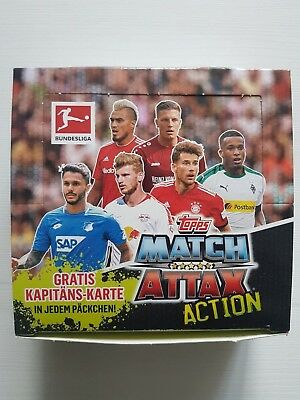 Match Attax  Action 2018/2019 - 20 Booster /Display = 220 Cards Topps NEU & OVP