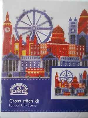 "Cross stitch Kit ""London City Scene "" New by DMC"